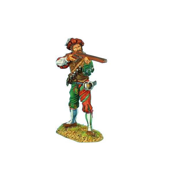bf2c4aaadb9e1 German Landsknecht Arquebusier figurines et collections