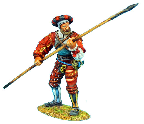 0480b0ef730b1 German Landsknecht with Pike figurines et collections