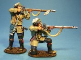 French Marines in Campaign Dress Firing 2