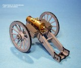 British Brass 5.5 inch Howitzer