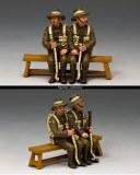 Sitting Anzacs Set 1 (South Australia)