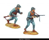 French Infantry Machine Gun Team