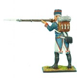 French 18th Line Infantry Fusilier Standing Firing in Forage Cap