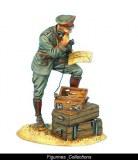 FL GW001 German Officer on Phone - 62nd Infantry Division