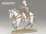 Mounted Templar Drawing Sword