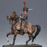 CV02- Kit à peindre - Officier d'artillerie à cheval de la garde