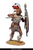 FL ZUL017 uMbonambi Zulu Warrior with Spear and Shield