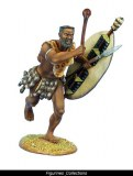 uThulwana Zulu Warrior Charging