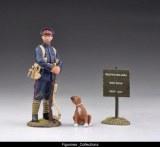 British Marine & Boxer Puppy