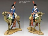 Camel Cavalier w/Rifle Across