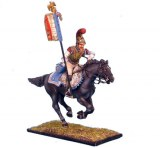 NAP0073 French 2nd Carabiniers Standard Bearer Charging RETIRE