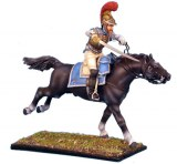 NAP0074 French 2nd Carabiniers Officer Charging