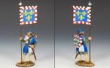 Royal Man-at-Arms with Banner