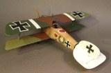 JJD ACE-43 KNIGHTS OF THE SKIES Albatros D.III (OAW), Jasta 2 Boelke, June 1917, Ltn. Werner Voss