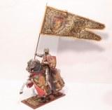 AE 6376.7 Sir Bernard Brocas w/Large Flag