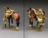 AL108 ALH Trooper Mounting Up (Brown Horse Version) PRE ORDER