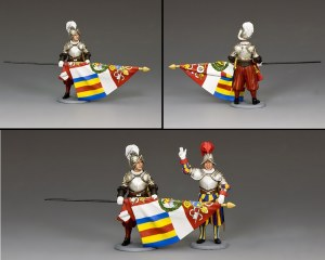 CE025 Swiss Guard Standard Bearer