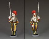 CE026 Swiss Guard Recruit PRE ORDERCE027 Guardsman w/Two-Handed Sword