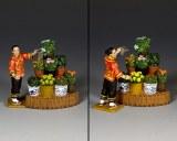 HK279 The Flower Stall Set (Matt)