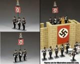 "LAH242 ""The Leibstandarte Adolf Hitler Standard Set"" (set of 3)"