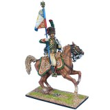 NAP0532a French Imperial Guard Chasseur a' Cheval Standard - 18015-1813 Pattern