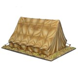 FL ROM171 Roman Legionary Camp Tent - Closed