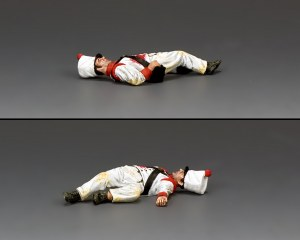 RTA101 Lying Dead Mexican Soldier (face up)