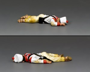 RTA102 Lying Dead Mexican Soldier (face down)