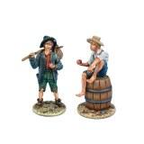 WW015 The Town Boys, Sawyer and Finn