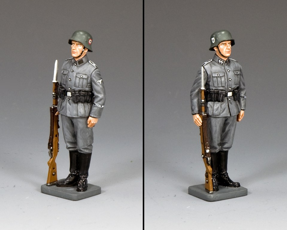 WS341 Waffen SS Flag Bearer by King /& Country