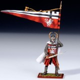 Teutonic Knight Ally w. Banner of Konigsberg