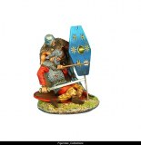 Gallic Warrior Wounded Vignette