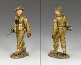 British Officer w. Sten Gun
