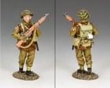 Advancing Infantryman