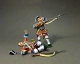2 British Line Infantry Casualties