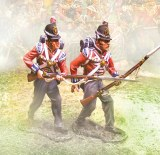 Foot Guards Advancing ( 2 figs )