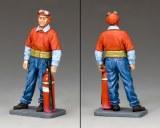 US Navy Fireman