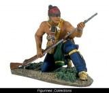 Eastern Woodland Indian Kneeling Loading