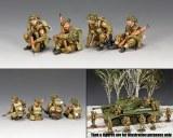 BBB002 British Tank Riders Set
