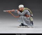 Kneeling Rifleman firing wearing fur hat