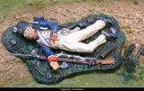 French Line Infantry Prone