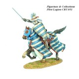 Mounted Crusader Lusignan Knight Charging