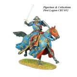 Mounted Crusader French Knight Charging