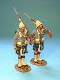 Highlanders standing
