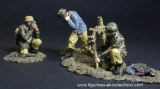 TGM004B FJ Mortar Set with War Correspondent Photographer
