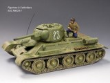 RA025-1 Soviet T34/76 (#23) RETIRE