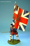 BJ-09 British Officer with Kings' Colours -