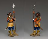 PnM001 Parliamentary Officer w/Halberd and Pistol