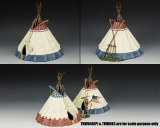 Sioux Indian Tepee (Version 1)