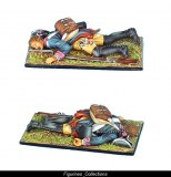Prussian 7th Line Infantry Regiment Musketeer Casualty